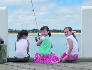 Shipwreck Fishing Classic is a great family fun event. Just ask Georgia, Hannah and Abbey.