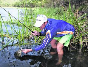 The use of a topographical map will open up opportunities for the shore-based angler. Getting there is half the fun and catching a bass is a bonus.