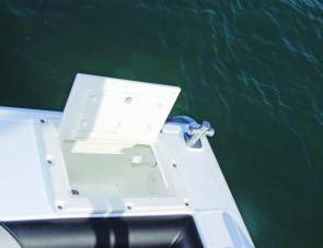 A live well is an option in the Haven, and one most anglers would choose to have fitted.
