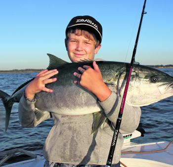 February is a great time to target kingfish locally, and some good fish have already been caught.