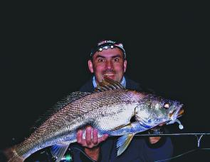 The major rivers and estuary systems will continue to produce good mulloway for a while yet.