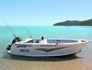 The TABS 5.1 Territory Pro is a great looking vessel.