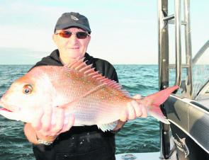 There are still some good snapper to be found this month. Norm Rayner travelled from the ACT to experience the bay snapper.
