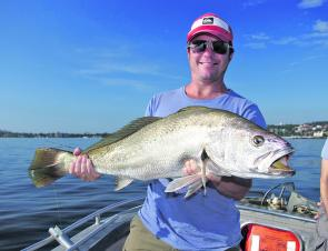 The early winter months are prime time for mulloway.