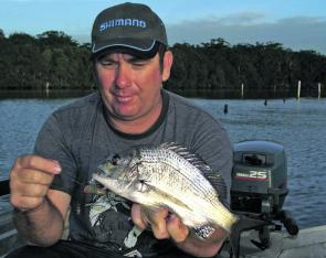 Bream numbers have been surprisingly high, though not too many fish caught make the 25cm legal size.