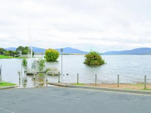 It's not overflowing any more, like it was in early 2012, but Lake Jindabyne is usually around 80% and packed with trout.