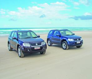 The new five-door and three-door Suzuki's came through with flying colours when put through their paces on Stradbroke Island recently.