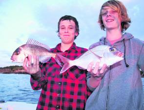 April marks the start of some good snapper fishing over the shallow reefs, especially with soft plastics.