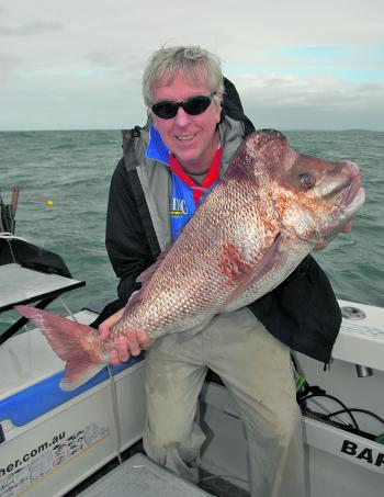 David with a wicked snapper!