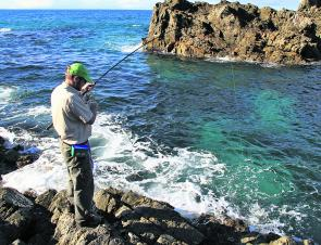 The rocks around Burgess beach offer good wash and good fishing provided the water isn't super clear.