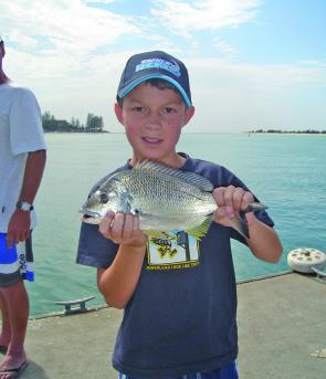 There are plenty of good bream around in the passage over the holiday season.
