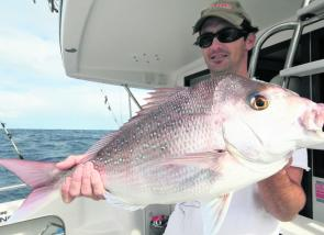 Snapper, like this one caught on board RU4REEL Charters, will be on the cards this month