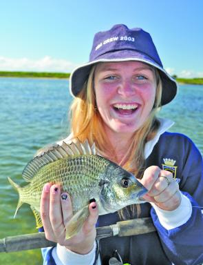 Small to mid-range bream in the Bega River will keep most anglers satisfied.