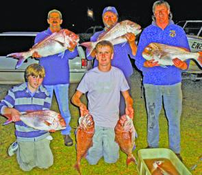 Members of Drysdale Sportfishing Club know where the action is.