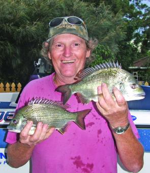 Bream should be gathering in the deep water around Maclean this month.