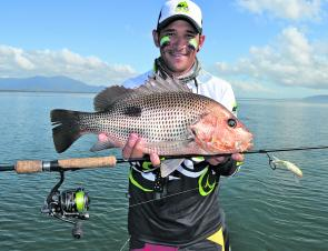 Golden snapper are a top catch this summer.