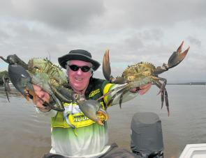Mud crabs will be in decent numbers this month, especially on the bigger tides.