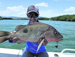 Golden snapper will be a real target in November with barramundi off the take list.