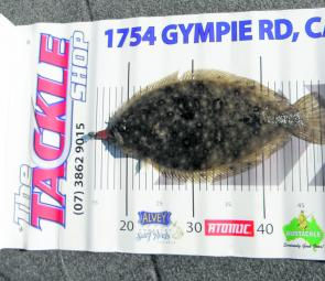 This flounder was more that happy to munch on a soft plastic. These fish don't come much bigger.