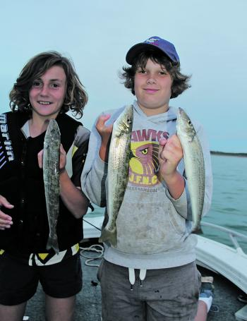 March is a great time to target tasty King George whiting.