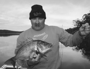 The Mallacoota estuary system is huge and there is great water for targeting a variety of fish, including bream.