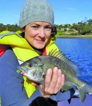 Even bream aren't safe from the float boat phenomenon – this vessel is perfect for skinny water breaming.