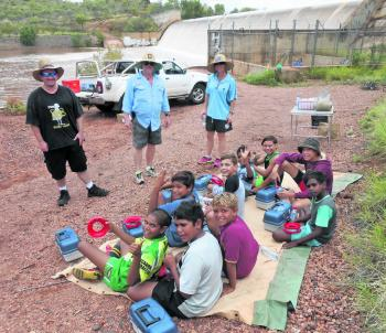 Cloncurry PCYC organised a fishing day for some of the local kids, who all had a great day out on the water.