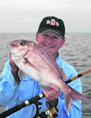 There are plenty prime eating-size snapper like this around, just add berley and they will come.