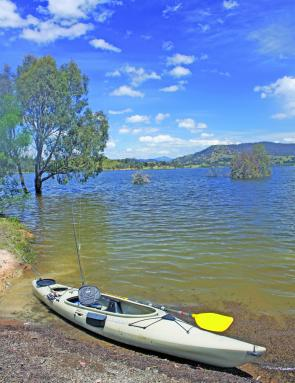 Bonnie Doon, fantastic kayaking country.