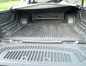 A tray liner is a must in a work orientated ute.