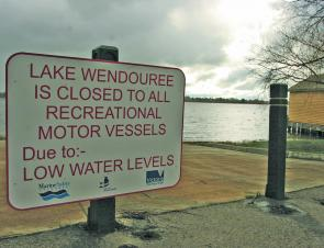 Lake Wendouree is still closed to boats, but there is hope that fish will once again be stocked into the lake.