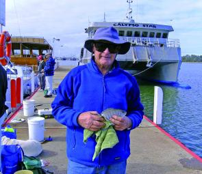 Luderick are being caught from the Lakes Entrance town jetties on most days.