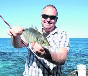 Paul 'The Cook' finds that fishing as light as the conditions will allow will reduce snags, and can also catch a trevally or two.