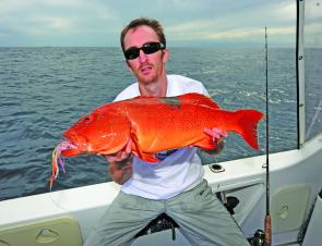 PE Tackle has a range of customised tackle for trophy-sized coral trout.