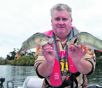 These two fish could be considered average for Purrumbete.