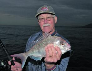 There are still a fair few pan-sized reds over the reefs this month.