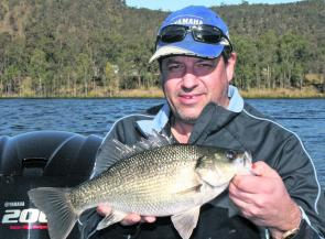 Solid bass are still coming from Lake Cressbrook. Take the time to find bass on the sounder and you should be rewarded.