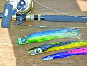 Lure trolling enables you to cover a lot of ground quickly to find where the marlin are holding.