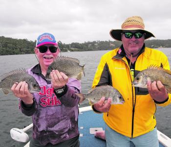 Who wouldn't be smiling after catching these beauties while out with Stuart Hindson on Wonboyn Lake?