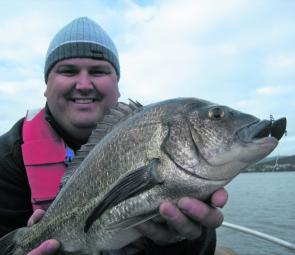 Derwent bream might be harder to find in winter but they are usually cracking fish and this 40cm model is no exception.