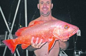 The odd reef jack, like this beauty caught off Cairns by Matt Coleing, will be taken this month.