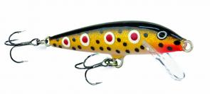 The re-released Rapala Spotted Dog is picking up plenty of trout.
