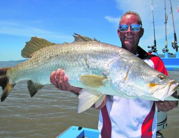 Troy Watson and friends caught over 20 barra on charter with me, most over 90cm.