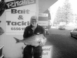 Phil Blake caught this 5kg snapper from off Crowdy head.