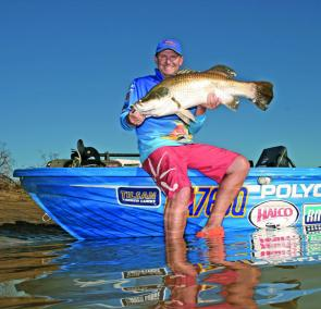 The saltwater reaches of the Boyne River will be a good spot to target winter barra.