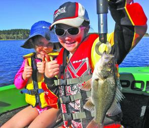 The kids love fishing, whether it's a toadfish or an Aussie bass. Treat to some time on the water this Christmas.