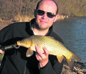 Smaller carp can be pests when the action heats up. They love getting among the redfin and yellowbelly in search of a feed.