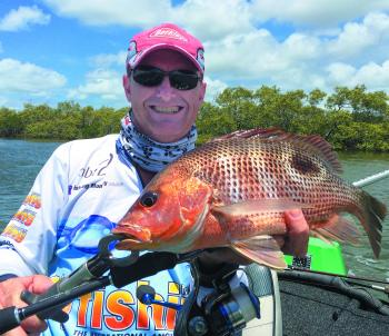Middle Creek golden snapper (fingermark) are great sport and even better eating.