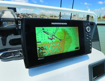Humminbird's Helix 9 is a great all-round unit and combines side image, down image, GPS and mapping features.
