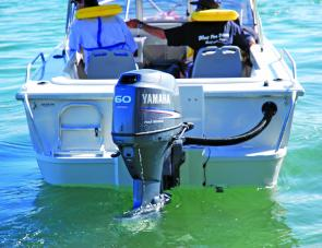 Yamaha's four-stroke 60hp provided a smooth and powerful ride.